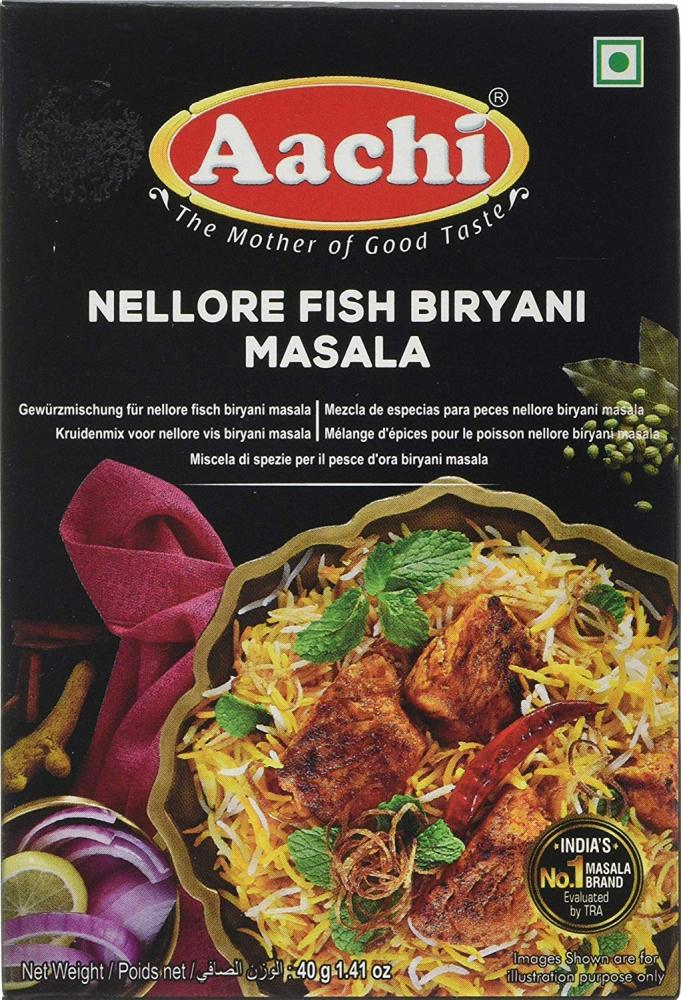 Aachi Masala Nellur Fish Biriyani 40g