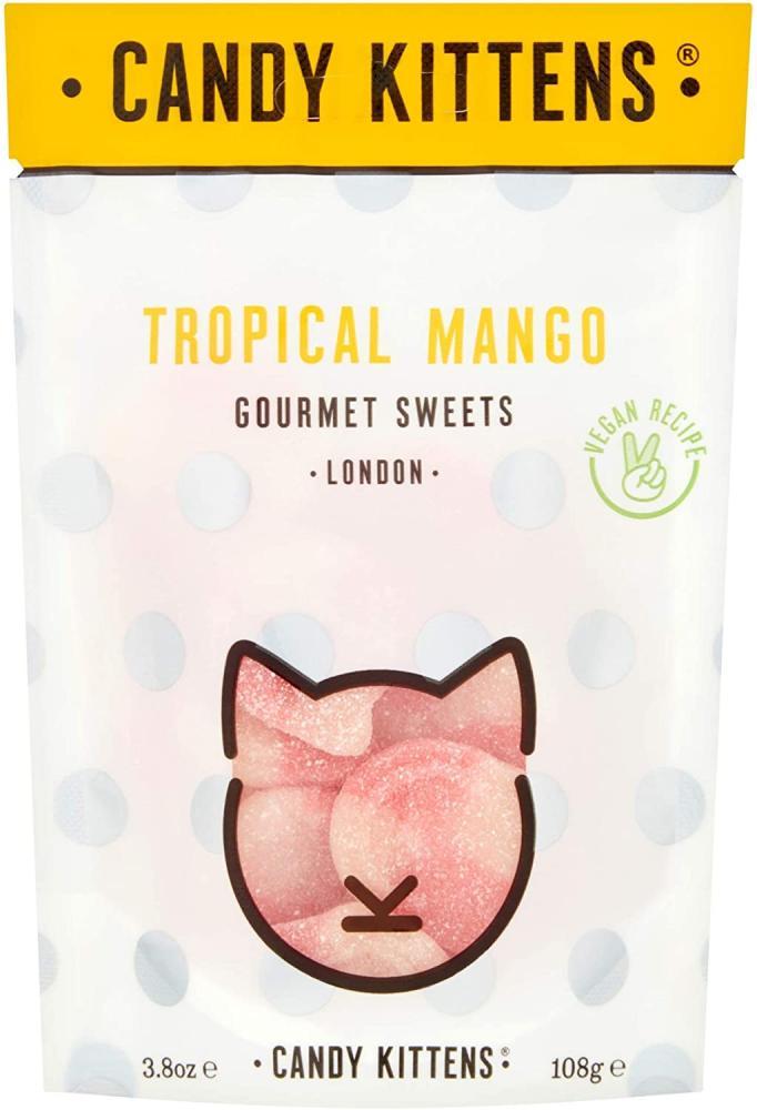 Candy Kittens Tropical Mango Vegan Sweets 108g