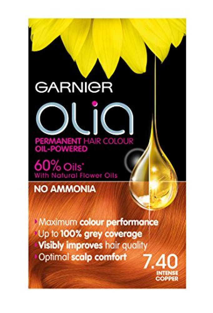 Garnier Olia 7.40 Intense Copper Permanent Hair Dye