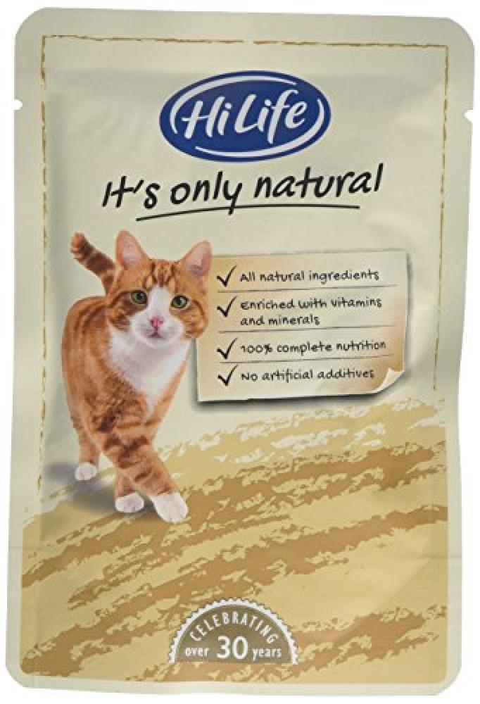 HiLife It s Only Natural Pet Food For Adult Cats Lucky Dip 70g
