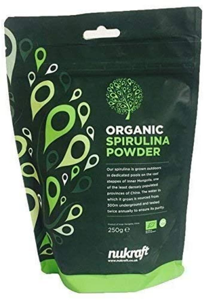 SALE  Nukraft Organic Spirulina Powder 250 g