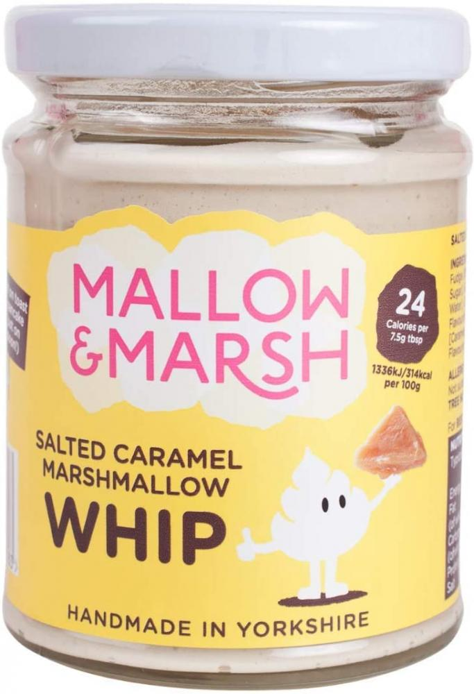 Mallow and Marsh Salted Caramel Whip 138g