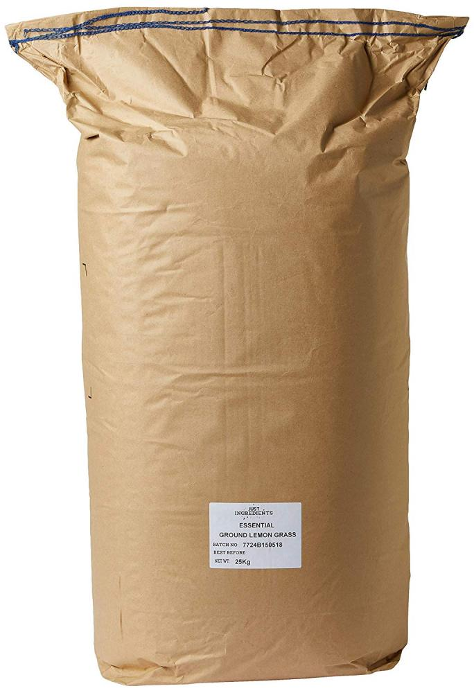 JustIngredients Ground Lemon Grass 25Kg