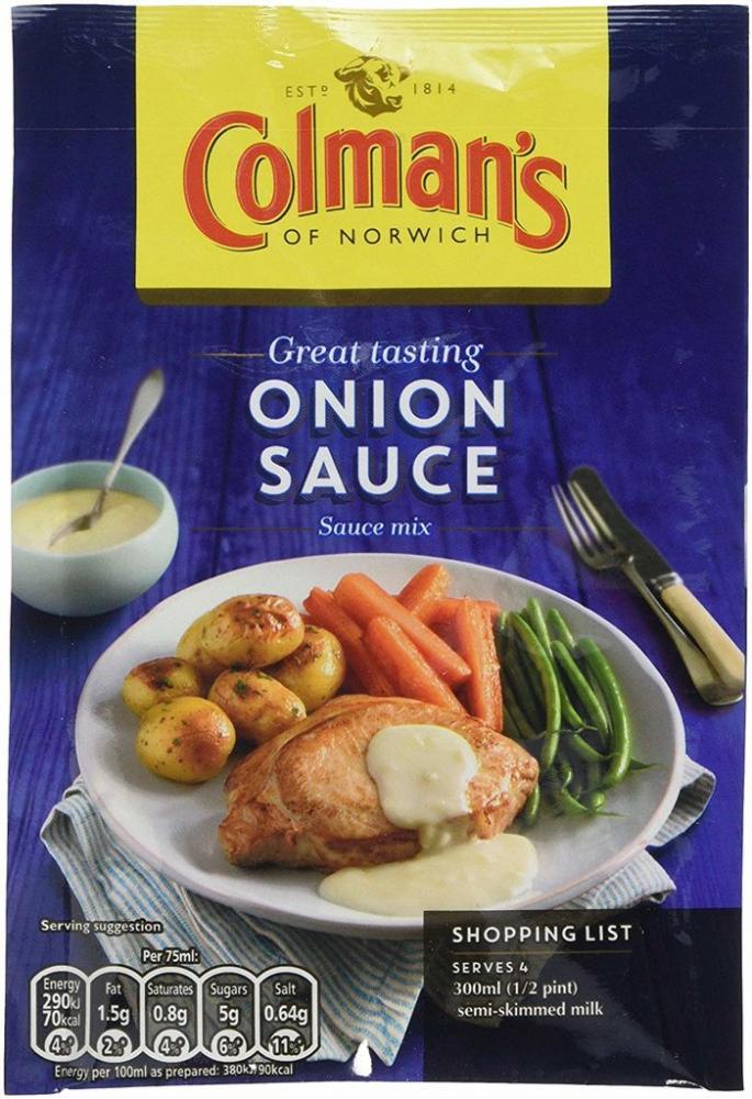 Colmans Onion Sauce Mix 35g