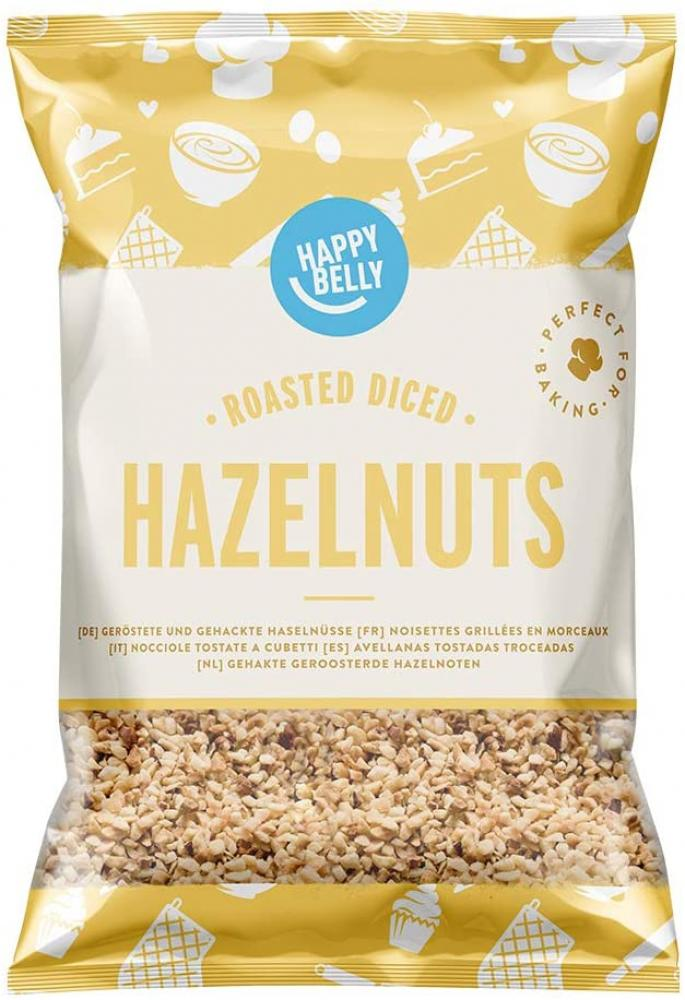 Happy Belly Roasted and Diced Hazelnuts 200g