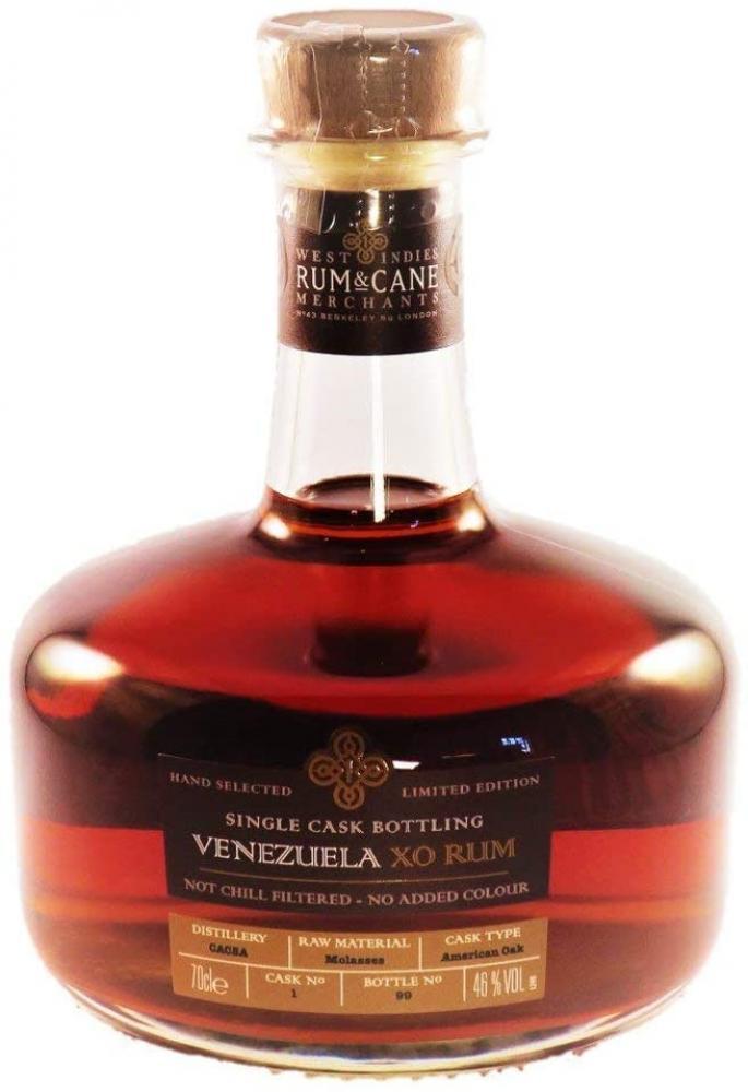 Venezuela XO Single Cask Rum 70 cl