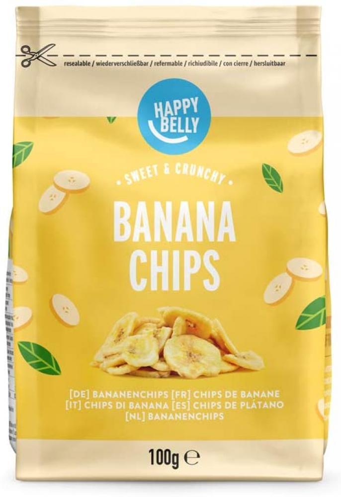 Happy Belly Banana Chips 100 g