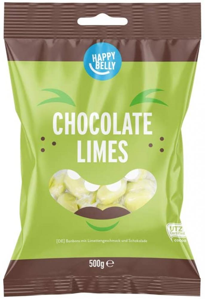Happy Belly Chocolate Limes 500g