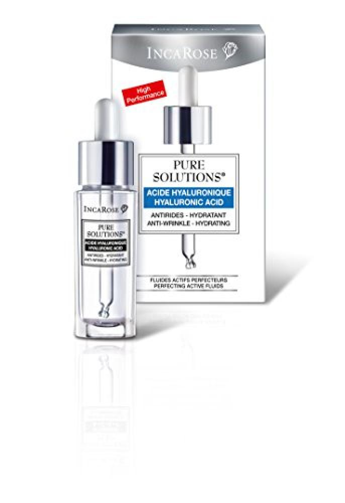 Inca Rose Pure Solutions Hyaluronic Acid 15 ml