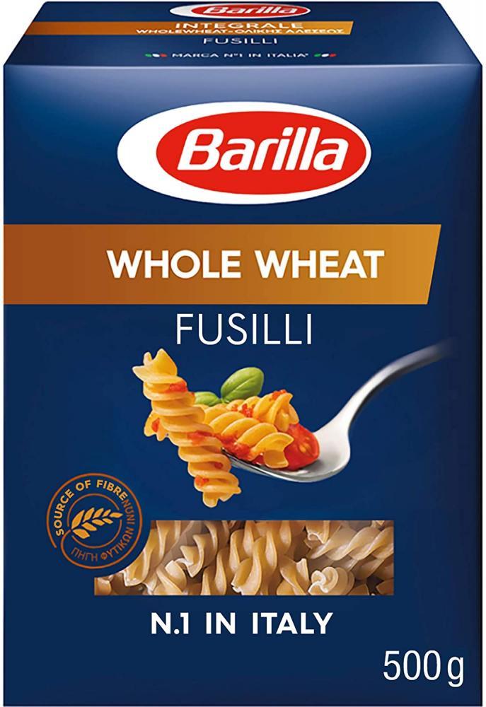 Barilla Pasta Premium Fusilli Wholemeal Pasta Authentic Italian Quality 500 g