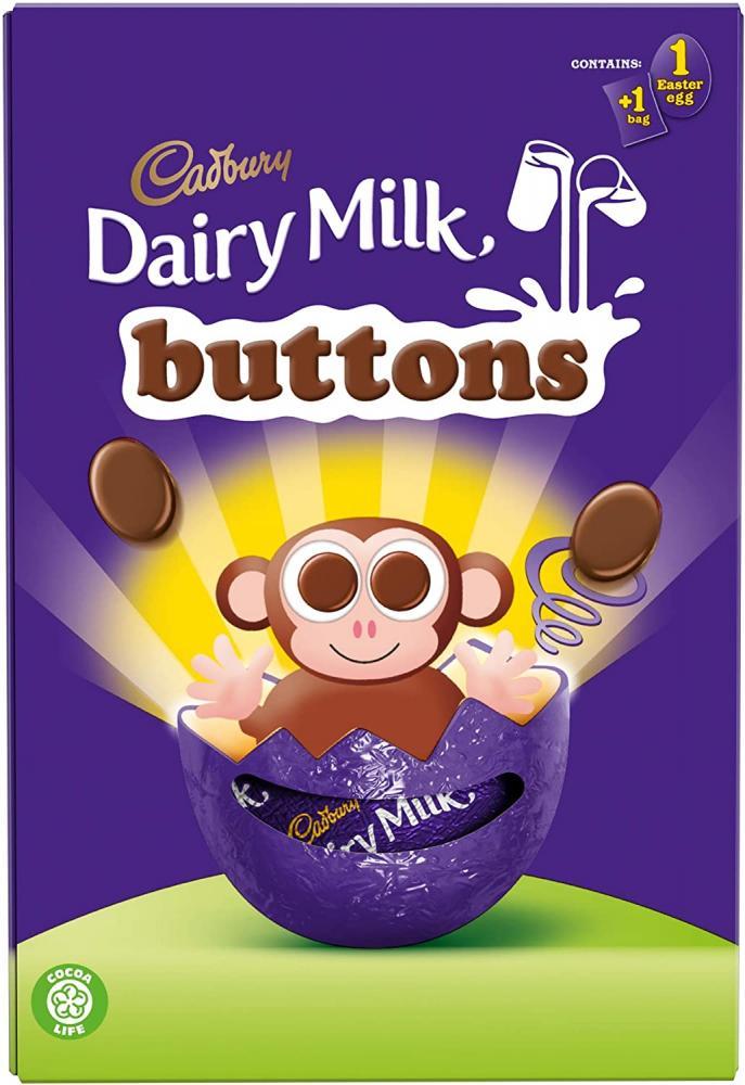 Cadbury Dairy Milk Buttons Easter Egg 74 g