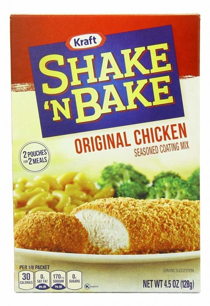 Kraft Shake n Bake Original Chicken 128g