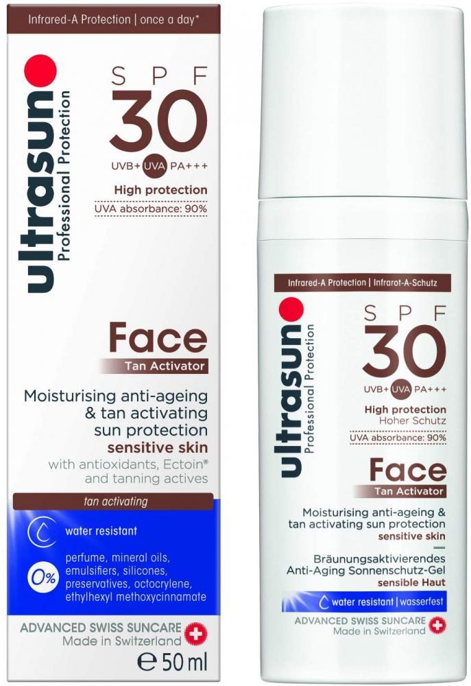 SALE  ultrasun Tan Activator Face 50 ml