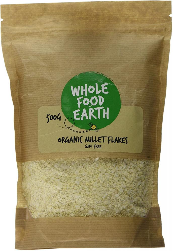 Wholefood Earth Organic Millet Flakes 500g