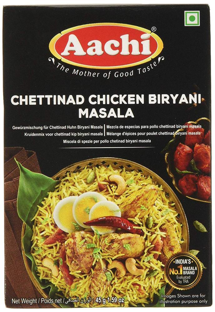 Aachi Masala Chetinad Chicken Biriyani 45g