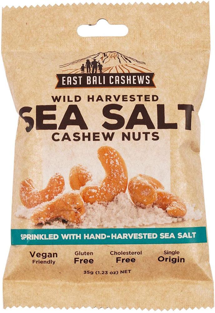 East Bali Cashews Sea Salt Cashew Nuts 35g