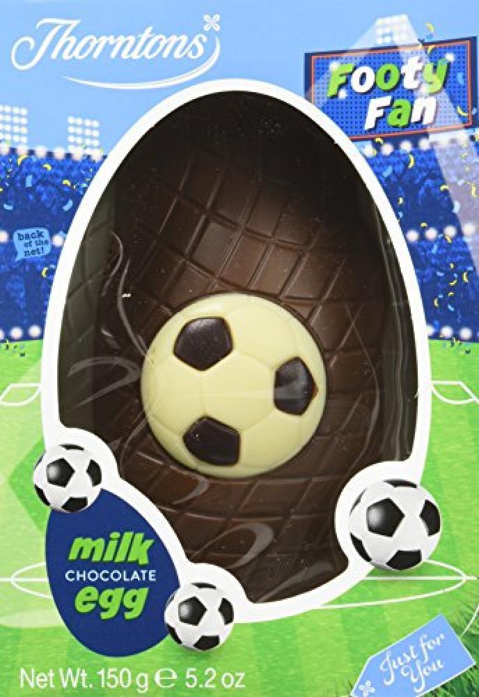 Thorntons Football Egg Chocolate 150 g