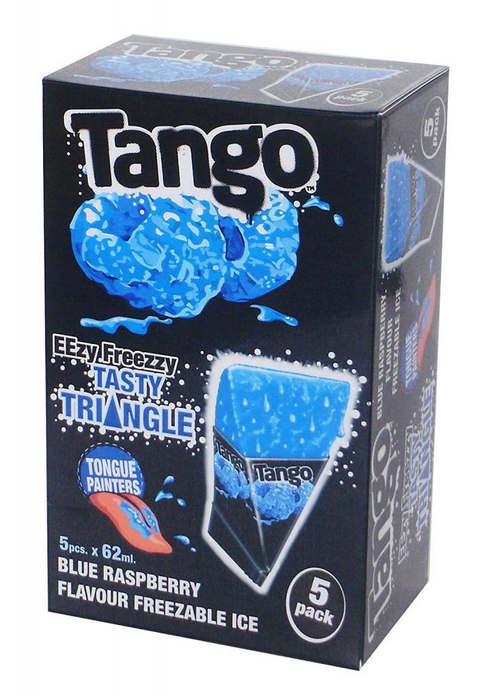 Tango Eezy Freezy Tasty Triangles Blue Raspberry 5x62ml