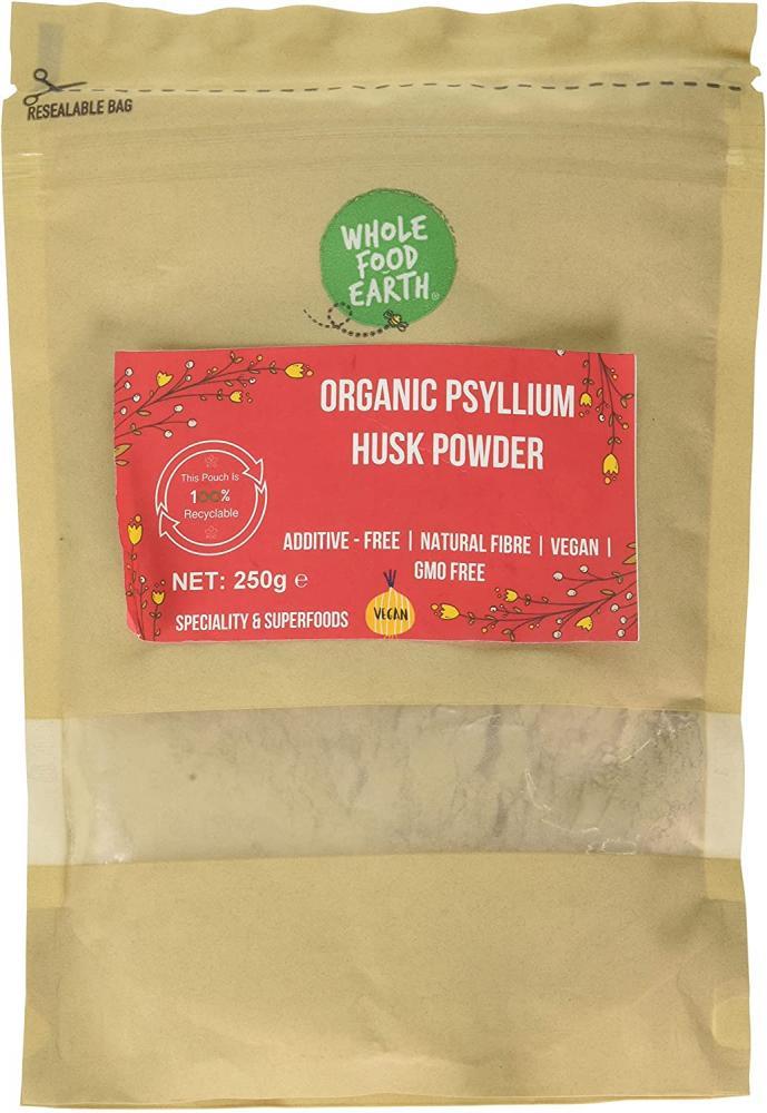 Wholefood Earth Organic Psyllium Husk Powder 250g