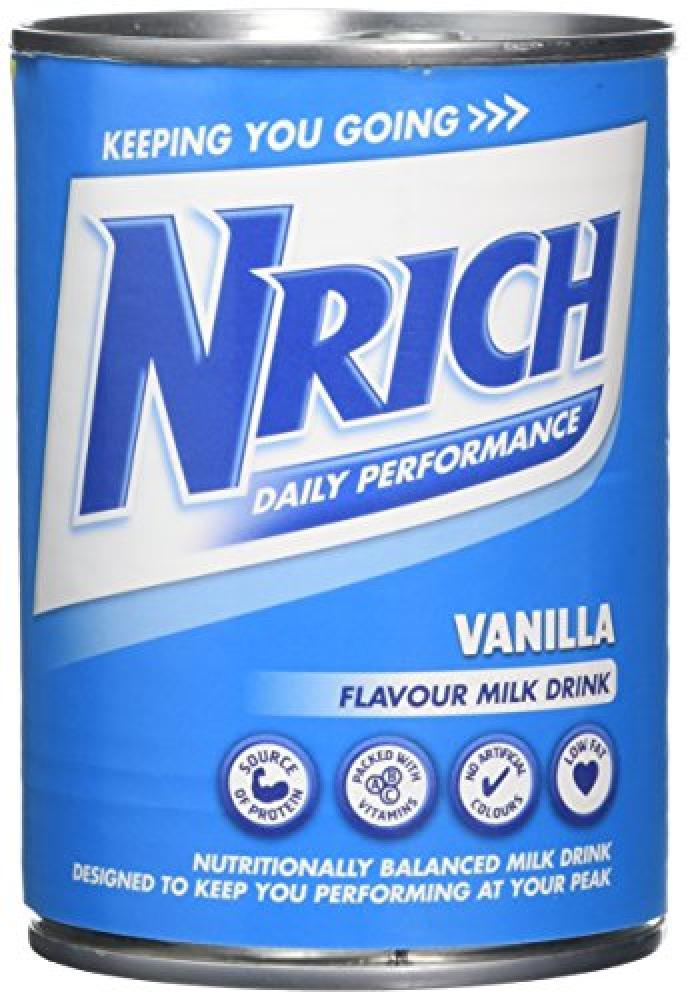 Nrich Vanilla Flavour Milk Drink 370ml