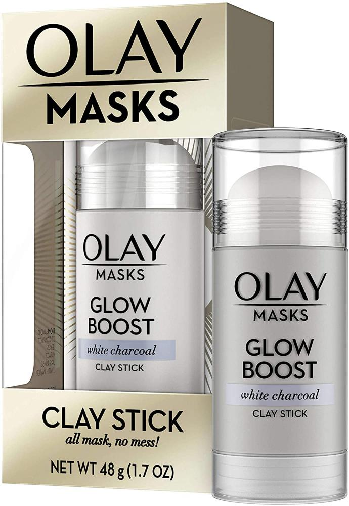 Olay Masks Clay Stick Mask - Glow Boost - White Charcoal 48 g