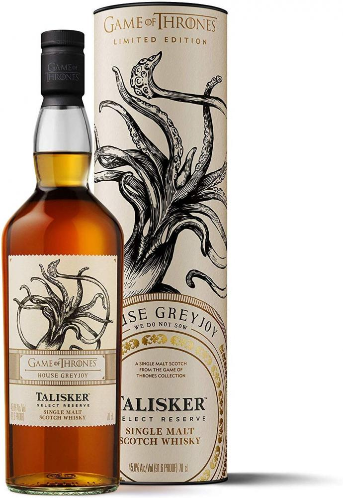 Talisker Select Reserve Single Malt Scotch WhiskyHouse Greyjoy Game of Thrones Limited Edition 700ml
