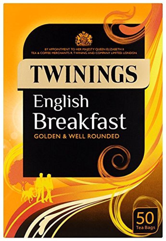 Twinings English Breakfast 50 Tea Bags 125g