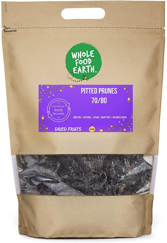 Wholefood Earth Pitted Prunes 70 80 1kg