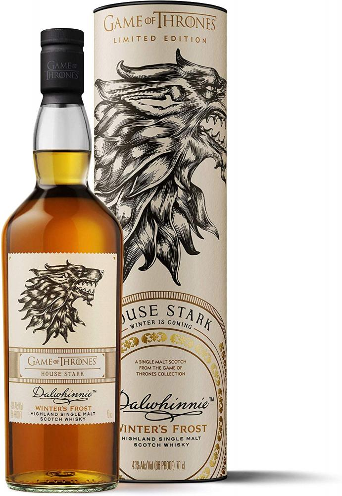 Dalwhinnie Winters Frost Single Malt Scotch WhiskyHouse Stark Game of Thrones Limited Edition 700ml