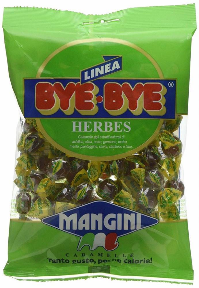 Mangini Bye Bye Herbes Candies 150g