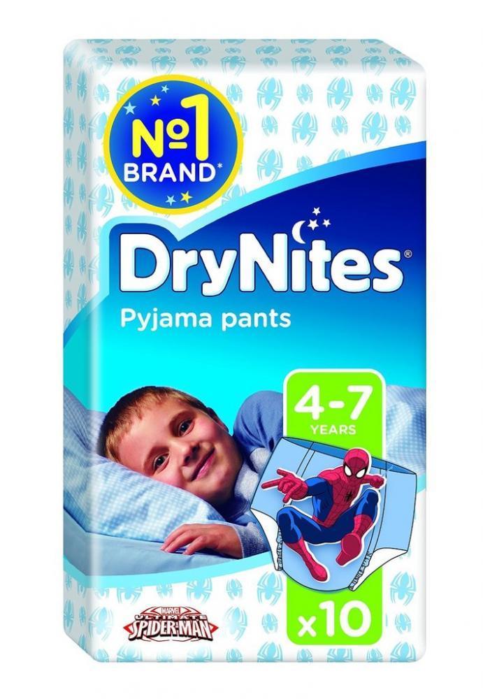 Huggies DryNites Boys Pants 4 to 7 Years 10 Pants