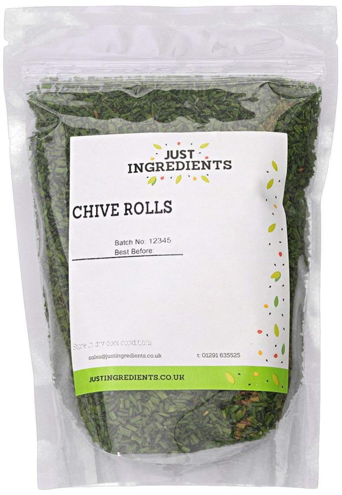 JustIngredients Chive Rolls 1kg