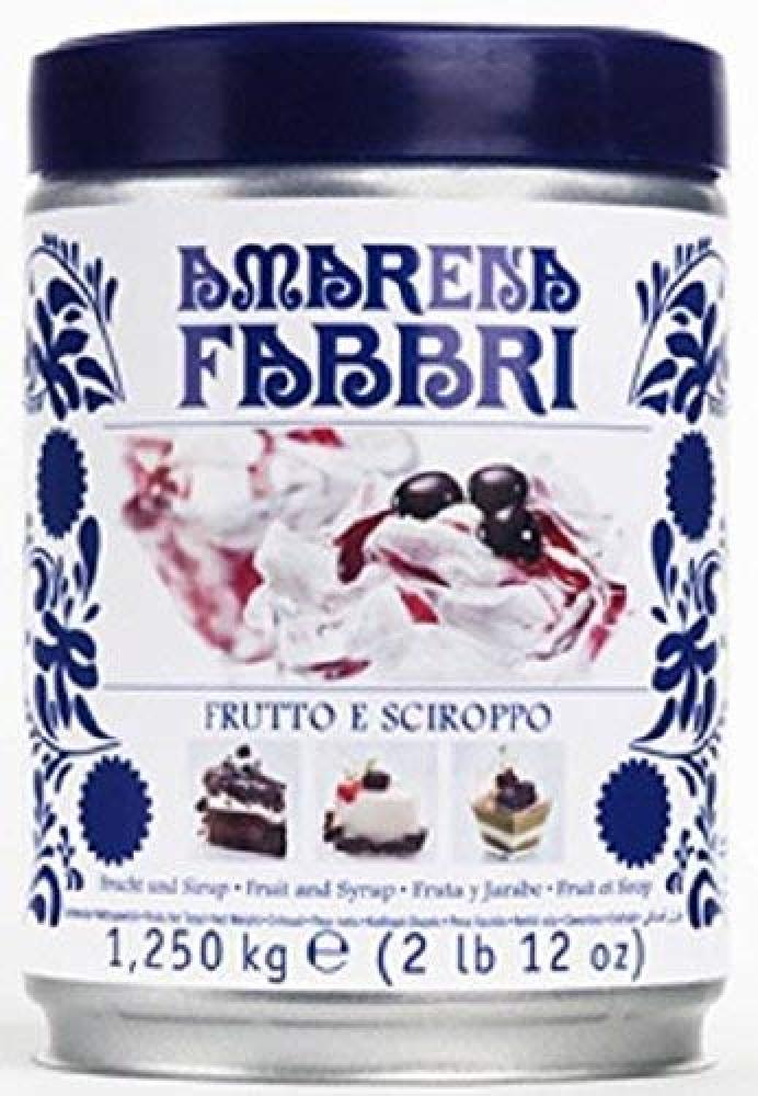 Amarena Fabbri Wild Cherries in Syrup 1.250 kg