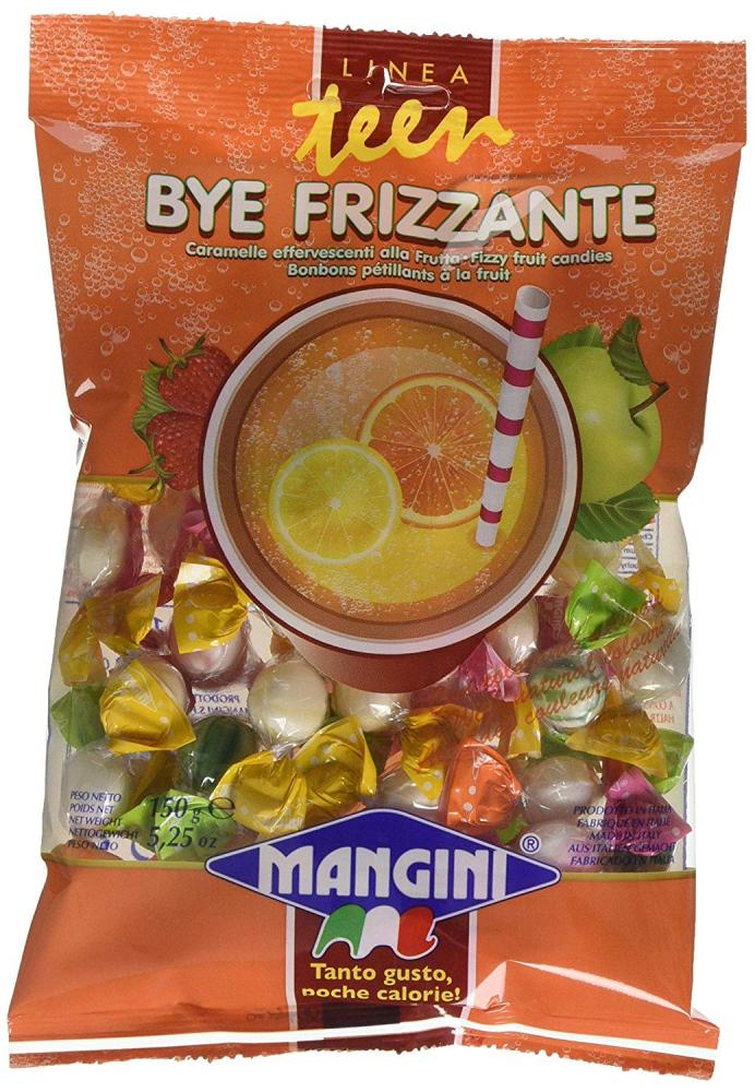 Mangini Fizzy Fruit Candies 150g