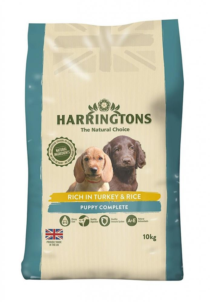 Harringtons Puppy Complete Rich In Turkey and Rice 10Kg