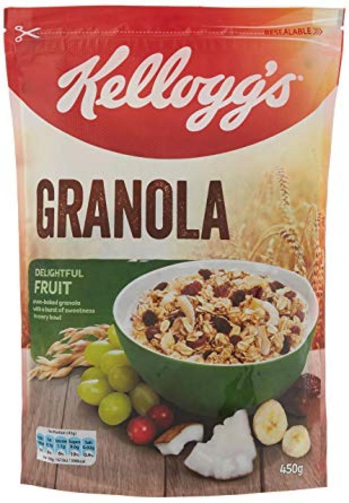 SATURDAY SPECIAL  Kelloggs Fruit Granola 450g