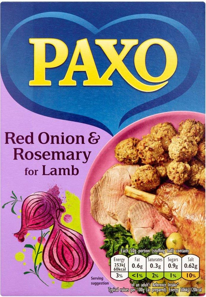 Paxo Red Onion and Rosemary Stuffing Mix 170g