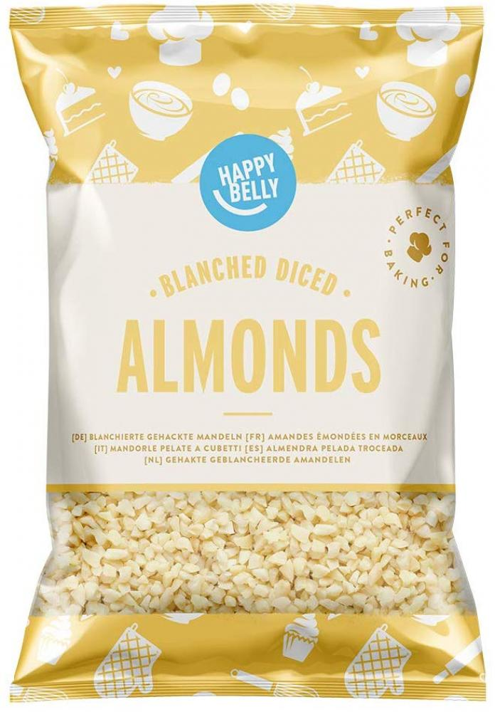 Happy Belly Blanched Diced Almonds 200 g