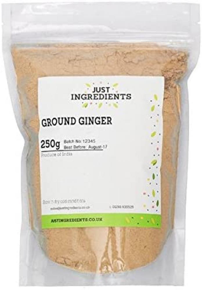 JustIngredients Essentials Ginger Ground 250 g