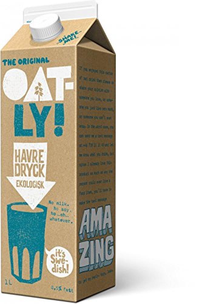 Oatly Oat Drink Organic 1 Litre