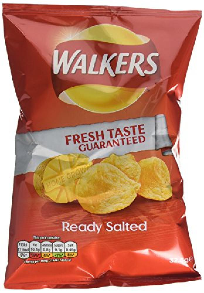 SALE  Walkers Ready Salted Crisp 32.5g