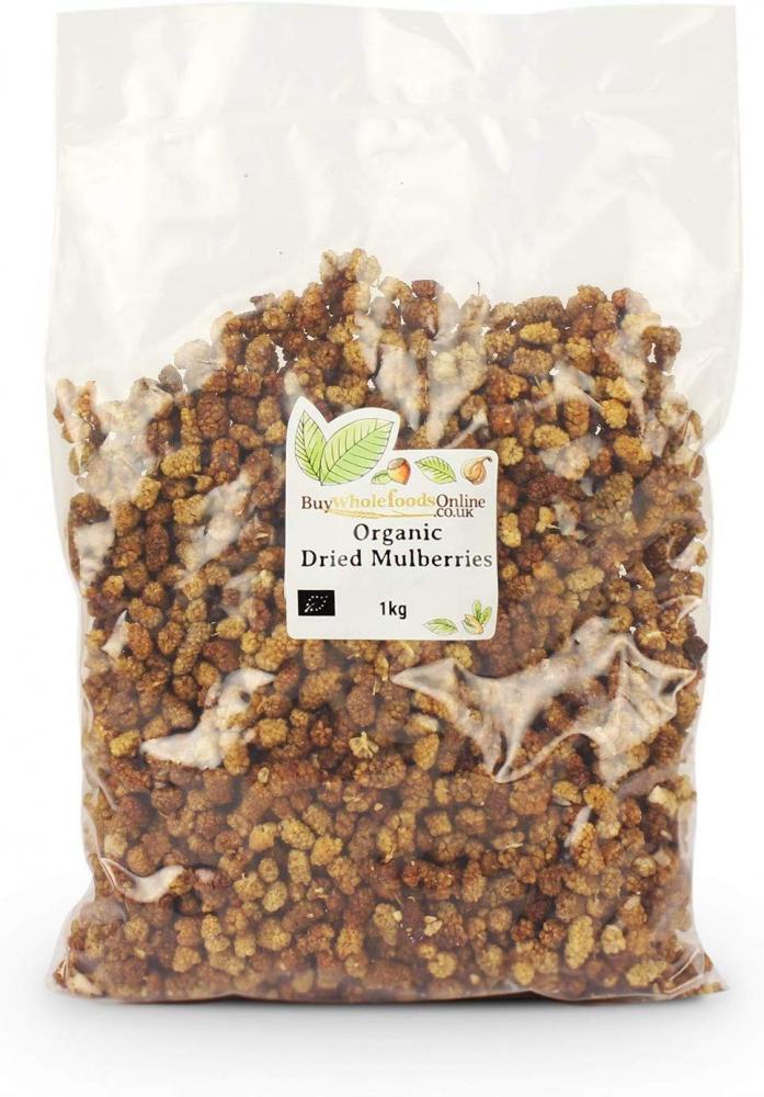 Buy Whole Foods Organic Dried Mulberries 1kg