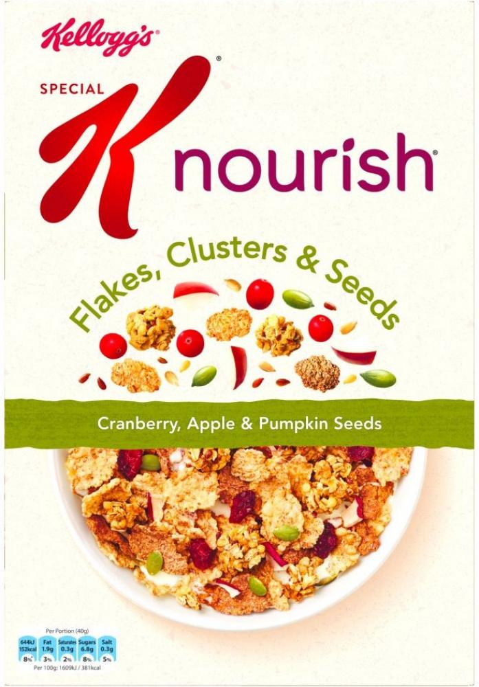 Special K Cranberry Red Apple And Pumpkin Seeds 440g