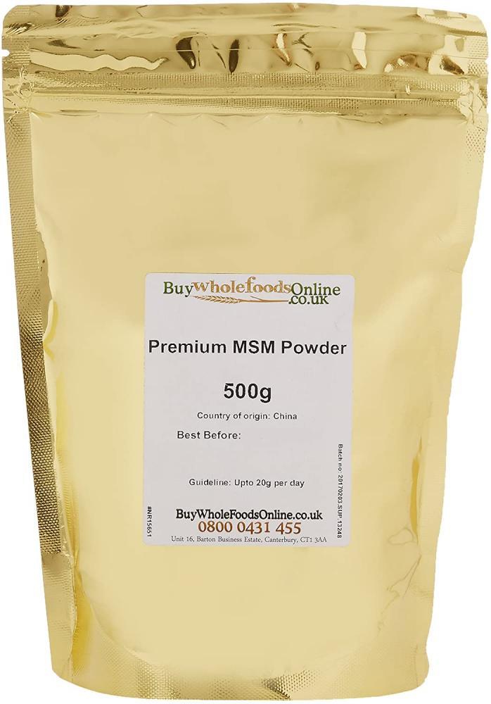 Buy Whole Foods Online Premium MSM Powder 500g