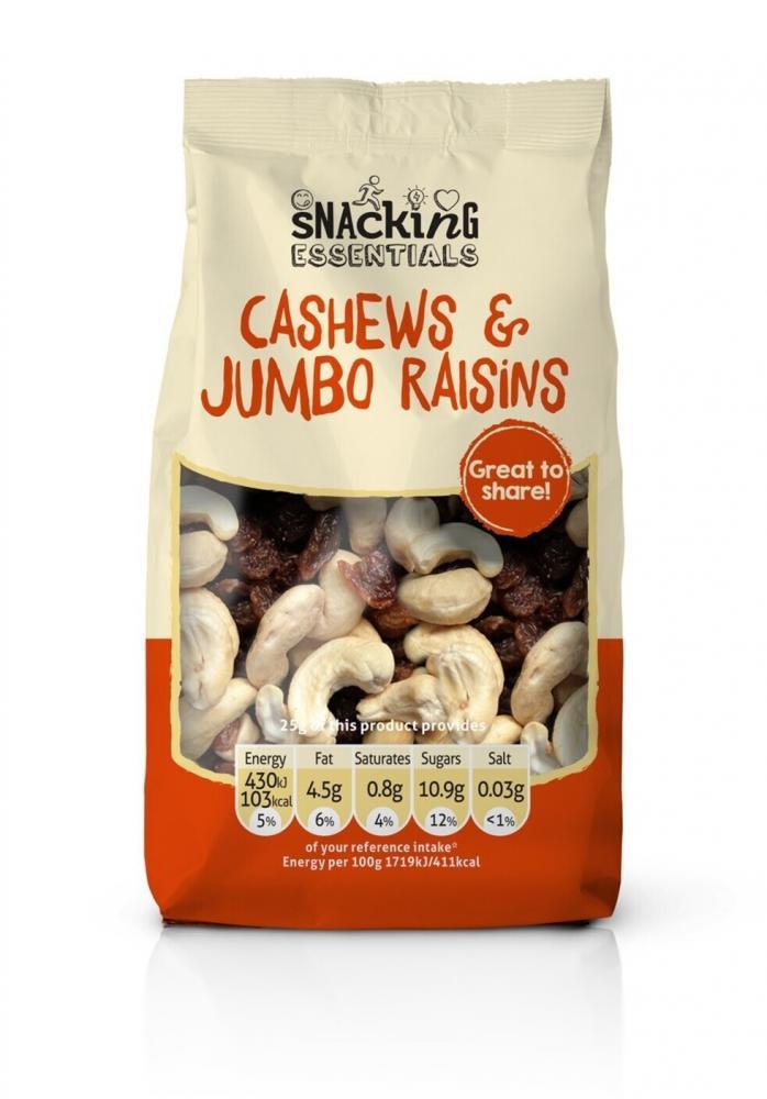 Snacking Essentials Cashews and Jumbo Raisins 150g