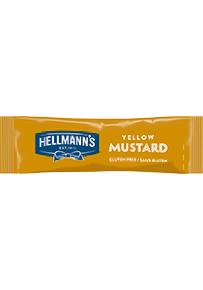 Hellmanns Yellow Mustard 10.4g