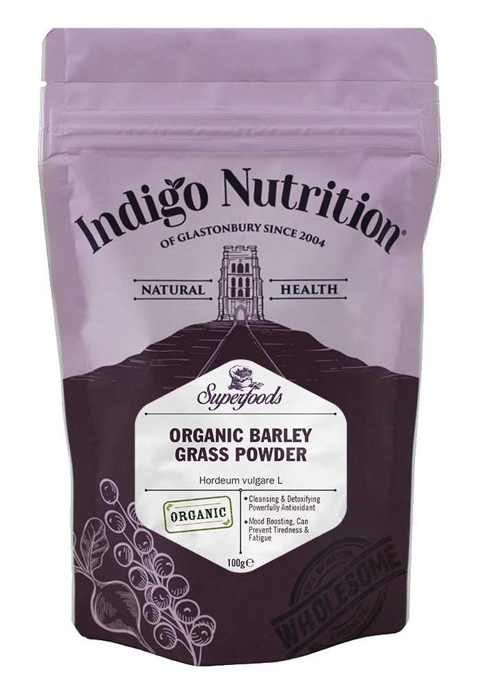 Indigo Nutrition Organic Barley Grass Powder