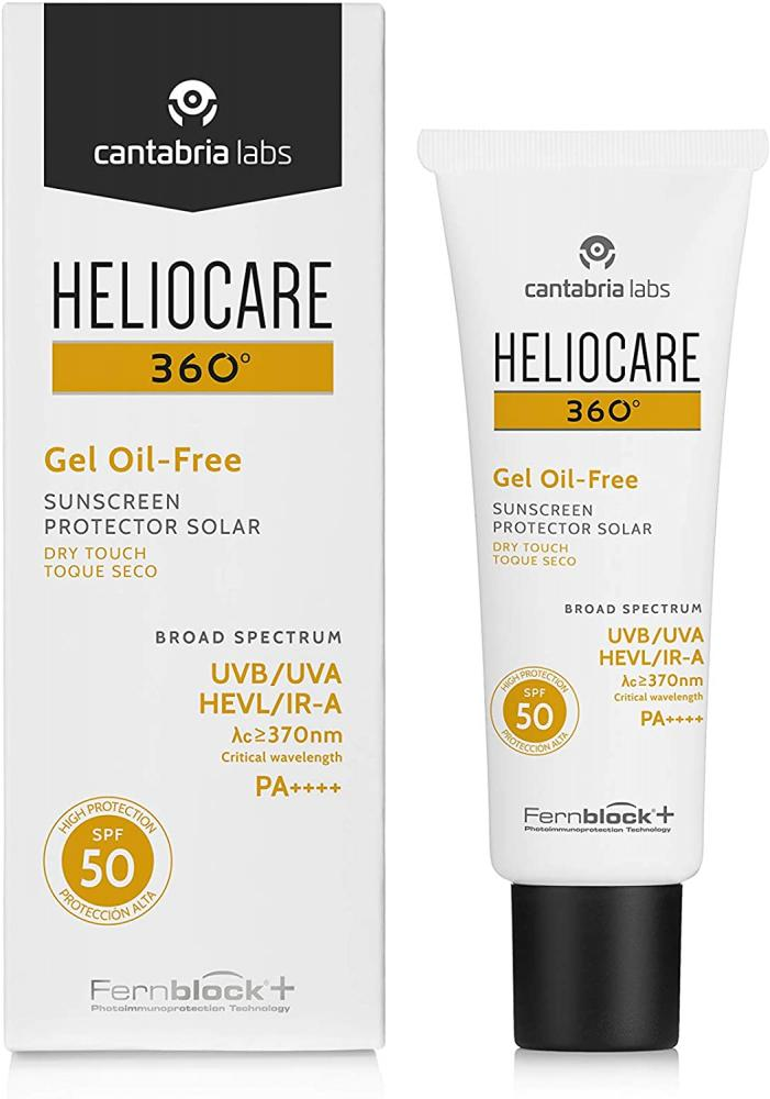 Cantabria Labs Heliocare 360 Oil-Free Gel SPF 50 50ml Damaged Box