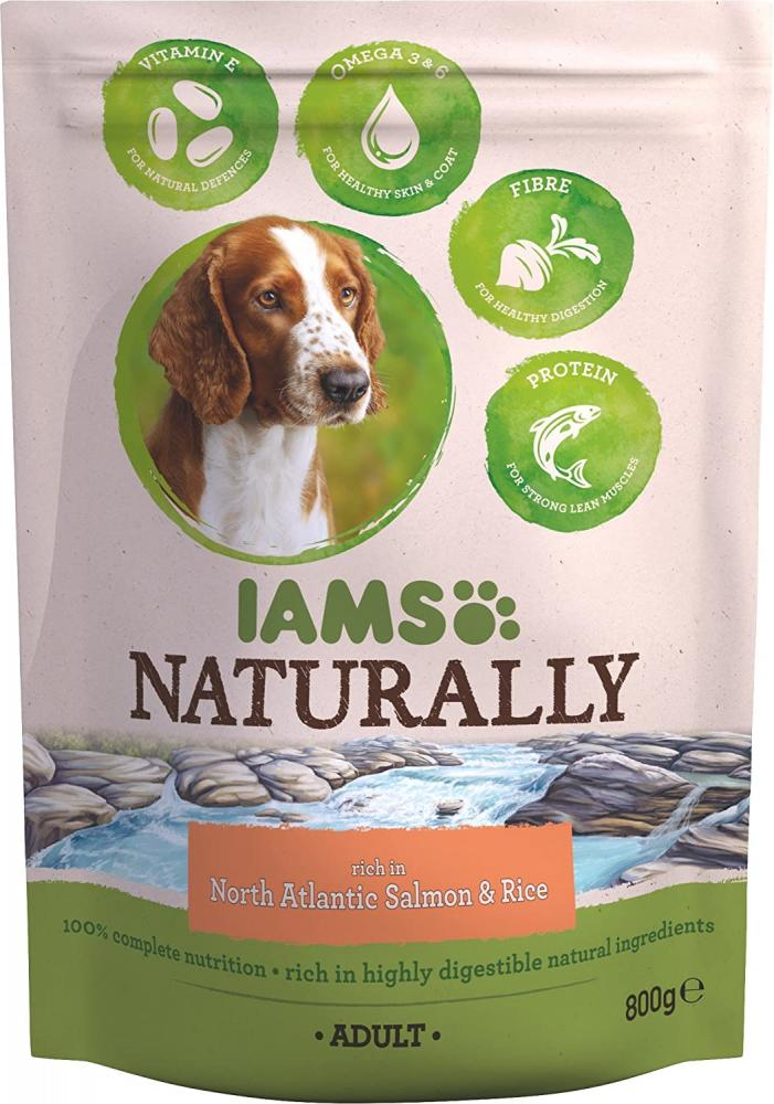 Iams North Atlantic Salmon and Rice Adult Dog 800 g