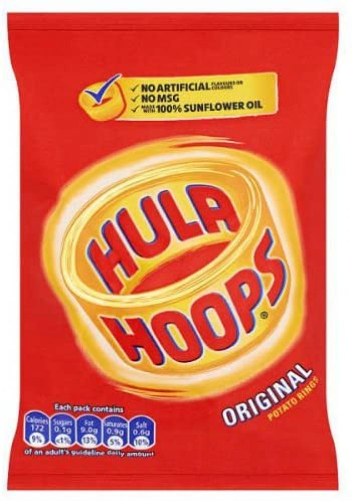 SALE  Hula Hoops Original Potato Rings 34g